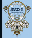 """Seasons Coloring Book: Published in Sweden as """"Tidevarv COLOR BK-SEASONS COLOR BK [ Hanna Karlzon ]"""