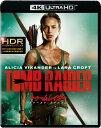 トゥームレイダー ファースト ミッション(4K ULTRA HD+ブルーレイ)【4K ULTRA HD】 アリシア ヴィキャンデル