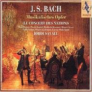 ��͢���ס�MusikalischesOpfer:Savall/ConcertDesNations[�Хåϡ�1685-1750��]