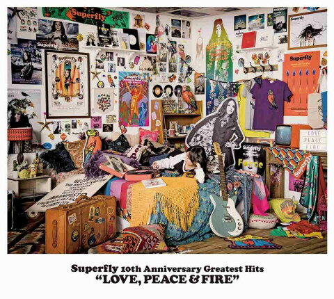Superfly 10th Anniversary Greatest Hits 「LOVE PEACE & FIRE」 (通常盤 3CD) [ Superfly ]