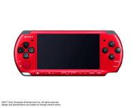 PSP「プレイステーション・ポータブル」(PSP-3000)バリューパック レッド/ブラック