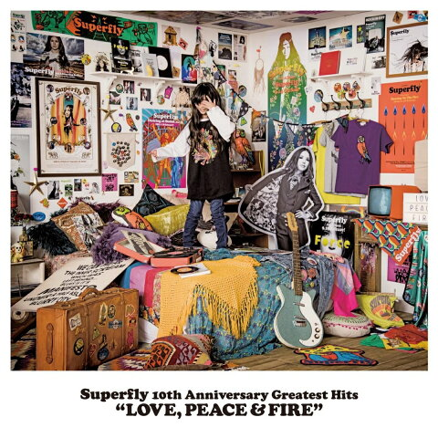 Superfly 10th Anniversary Greatest Hits 「LOVE PEACE & FIRE」 (初回限定盤 4CD) [ Superfly ]