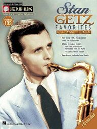 【輸入楽譜】ゲッツ Stan: ジャズ・プレイ・アロング 第133巻: スタン・ゲッツ - フェイバリット(CD付) [ ゲッツ Stan ]