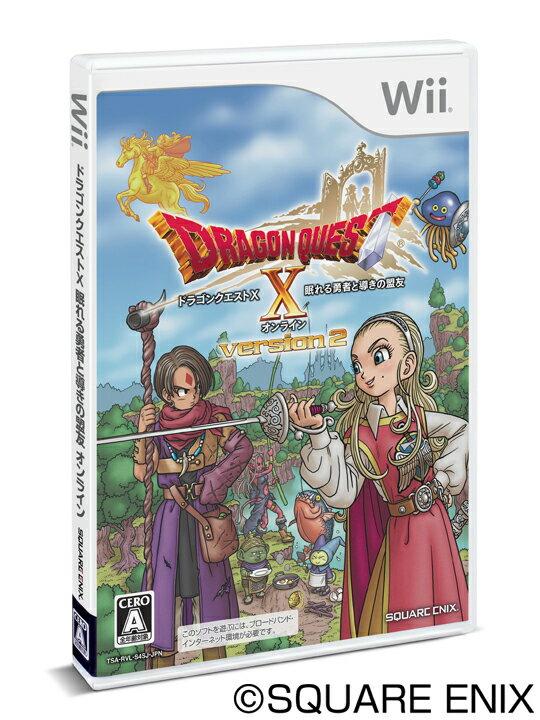 ドラゴンクエストX 眠れる勇者と導きの盟友 オンライン Wii版
