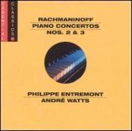 PianoConcerto.2:Entremont,Bernstein/Nyp,PianoConcerto.3:Watts,Ozawa/[��եޥ˥Υ�(1873-1943)]