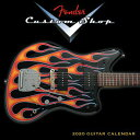 2020 Fender Custom Shop Guitar Mini Calendar: By Sellers Publishing CAL-2020 FENDER CUSTOM SHOP GU [ Fender Guitar ]