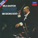 バルトーク:管弦楽のための協奏曲/舞踏組曲 [ サー・ゲオルグ・ショルティ ]