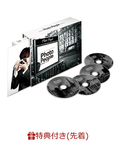 【先着特典】JAEJOONG Photo People in Paris vol.01(スペシャル・オリジナルポスター付き) [ ジェジュン ]