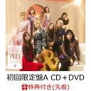 【先着特典】&TWICE (初回限定盤A CD+DVD) (...