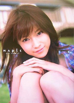 亀井絵里 写真集 Maple
