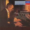 ラフマニノフ:ピアノ協奏曲第2番・4番 [ ヴラディーミル・...
