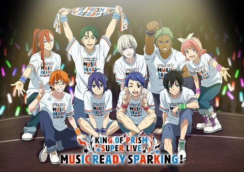KING OF PRISM SUPER LIVE MUSIC READY SPARKING! Blu-ray Disc【Blu-ray】 [ 寺島惇太 ]