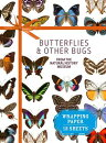 Butterflies & Other Bugs from the Natural History Museum: Wrapping Paper: 12 Sheets