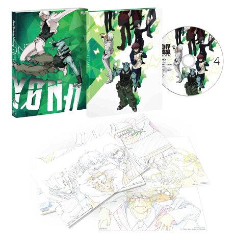 血界戦線 & BEYOND Vol.4(初回生産限定版)【Blu-ray】 [ 小山力也 ]
