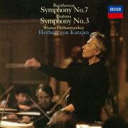 ベートーヴェン:交響曲第7番 ブラームス:交響曲第3番