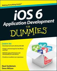 IOS6ApplicationDevelopmentforDummies[D.Wilson]