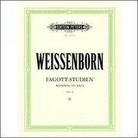 【輸入楽譜】ワイセンボーン, Julius: バスーン上級練習曲 Op.8 第2巻