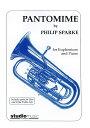 【輸入楽譜】スパーク, Philip: パントマイム(ユーフォニアムとピアノ) [ スパーク, Ph