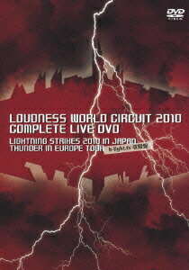 LOUDNESS WORLD CIRCUIT 2010 COMPLETE LIVE DVD LIGHTNING STRIKES 2010 IN JAPAN THUNDER IN EUROPE TOUR