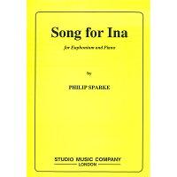 【輸入楽譜】スパーク, Philip: イナのための歌