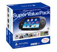 PlayStationVitaSuperValuePack3G/Wi-Fiモデルクリスタル・ブラック