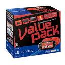 PlayStation Vita Value Pack Wi-Fiモデル レッド/ブラック