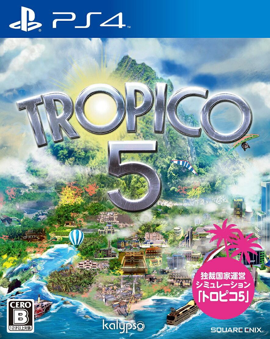 【予約】トロピコ5 PS4版