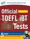 OFFICIAL TOEFL IBT TESTS VOLUME 1(P) [ EDUCATIONAL TESTING SERVICE ]