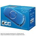 PSP「プレイステーション・ポータブル」(PSP-3000)バリューパック バイブラント・ブルーの画像