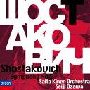 ショスタコーヴィチ:交響曲第5番 [ 小...