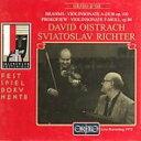室内乐 - 【輸入盤】ブラームス:ヴァイオリン・ソナタ第2番、プロコフィエフ:ヴァイオリン・ソナタ第1番 オイストラフ(vn)、リヒテル(p) [ Brahms / Prokofiev ]