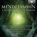 【輸入盤】『真夏の夜の夢』、序曲集 ヴェラー&スコティッシュ・ナショナル管、マズア&ゲヴァントハウス管 (2CD) [ メンデルスゾーン(1809-1847) ]