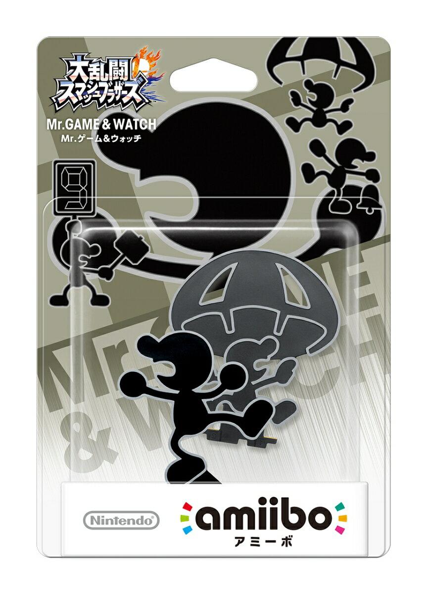 amiibo Mr.ゲーム&ウォッチ(大乱闘スマッシュブラザーズシリーズ)