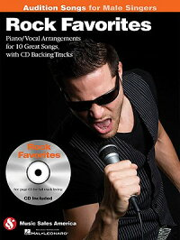 RockFavorites-AuditionSongsforMaleSingers:Piano/Vocal/GuitarArrangementswithCDBackingTr
