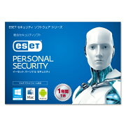 ESET �ѡ����ʥ륻�����ƥ� 1ǯ1�饤���󥹡ʥ����ɥ�����S�� Windows/Mac/Android �б�