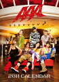 【入荷予約】 AAA カレンダー 2011