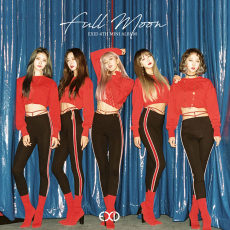 【輸入盤】4th Mini Album: Full Moon [ EXID ]