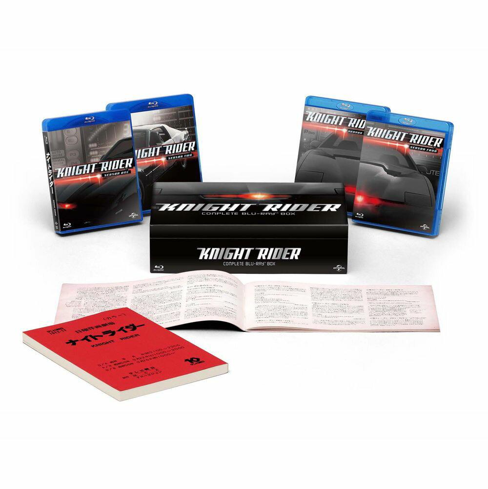 ナイトライダー コンプリート ブルーレイBOX【Blu-ray】 [ デイヴィッド・ハッセ…...:book:17044100