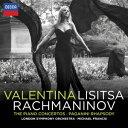 ラフマニノフ:ピアノ協奏曲全集(第1番ー第4番) パガニーニの主題による狂詩曲 [ ヴァレンティーナ・リシッツァ ]