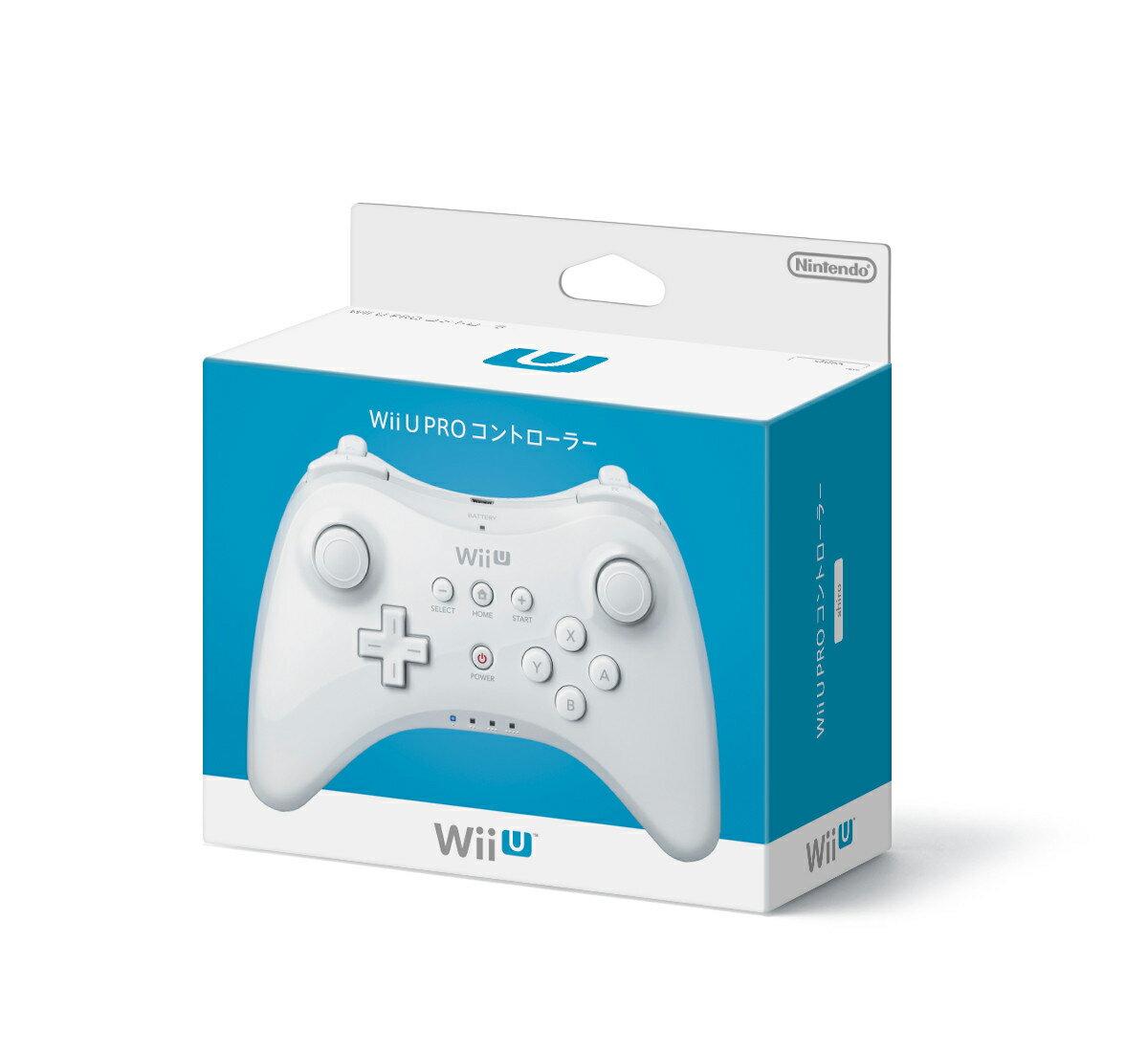 Wii U PRO コントローラー シロ (shiro)