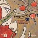 Symphony - 【輸入盤】交響曲第1番、第2番 ブラビンズ&ウェールズ・ナショナル管弦楽団 [ ツェムリンスキー(1871-1942) ]