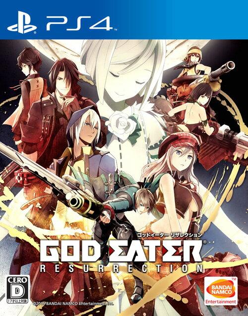 GOD EATER RESURRECTION クロスプレイパック&アニメVol.1 限定生産 PS4版