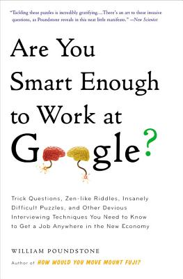 ARE YOU SMART ENOUGH TO WORK AT GOOGLE(B