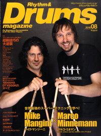 Rhythm_��_Drums_magazine_(�ꥺ��_�����_�ɥ��ޥ�����)_2010ǯ_08���_[����]