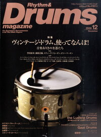 Rhythm_��_Drums_magazine_(�ꥺ��_�����_�ɥ��ޥ�����)_2009ǯ_12���_[����]