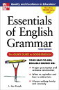 [洋]【送料無料】Essentials of English Grammar: The Quick Guide to Good English[洋書]