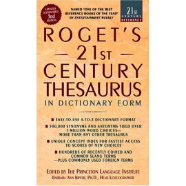 ROGET''S 21ST CENTURY THESAURUS(A)