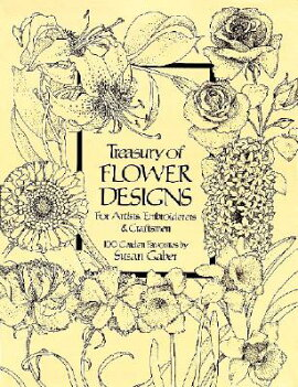 TREASURY OF FLOWER DESIGNS FOR ARTISTS(P