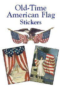OLD��TIME_AMERICAN_FLAG_STICKER