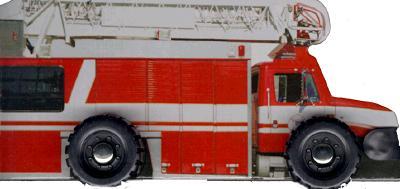WHEELIE BOOKS:FIRE ENGINE(BB) [ WHEELIES ]